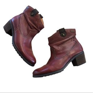 Pikolinos Leather Ankle Boots